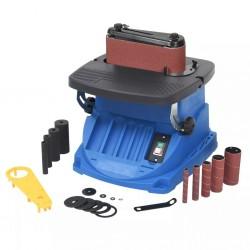 stradeXL Oscylacyjna szlifierka wrzecionowa i taśmowa, 450 W, niebieska