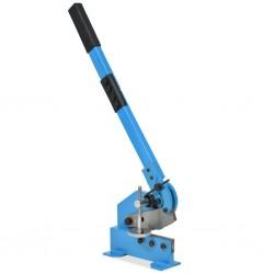 stradeXL Nożyce gilotynowe, gilotyna do blachy, 125 mm, niebieskie