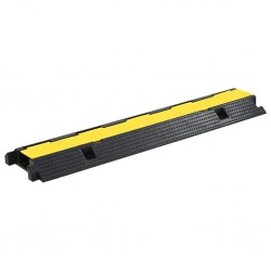 stradeXL Cable Protector Ramp 1 Channel Rubber 100 cm