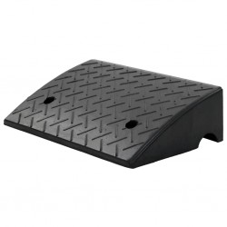 stradeXL Kerb Ramp Rubber 50x32.5x14 cm