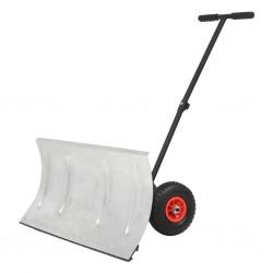 stradeXL Manual Snowplough with Wheels 100x44 cm