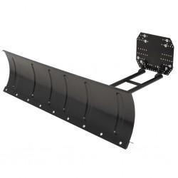 stradeXL Snow Plough for ATV 150x38 cm Black