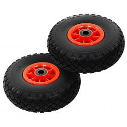 stradeXL Sack Truck Wheels 2 pcs Solid PU 3.00-4 (260x85)