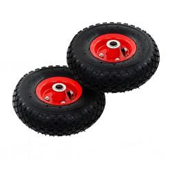 stradeXL Sack Truck Wheels 2 pcs Rubber 3.00-4 (260x85)