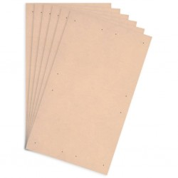 stradeXL Tablice plakatowe DIN A1, 10 szt., płyta HDF, 860x620x3 mm