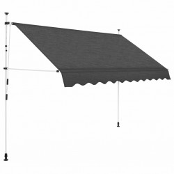 stradeXL Manual Retractable Awning 300 cm Anthracite