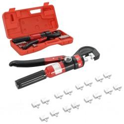 stradeXL Hydrauliczne szczypce zaciskowe, 4-6-8-10-16-25-35-70 mm²