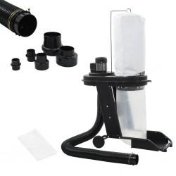 stradeXL Odkurzacz do pyłu z adapterem, czarny, 550 W