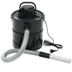 stradeXL Odkurzacz kominkowy z filtrem HEPA, 1000 W, 20 L, czarny
