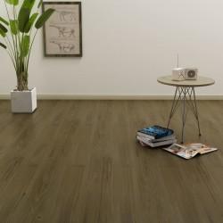 stradeXL Samoprzylepne panele podłogowe, 4,46 m², 3 mm, PVC, brązowe