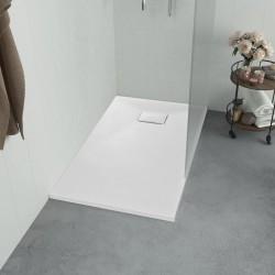 stradeXL Brodzik prysznicowy, SMC, biały, 100 x 80 cm