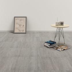 stradeXL Samoprzylepne panele podłogowe, PVC, 5,11 m², szare, punktowane