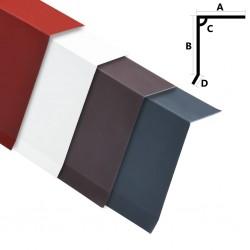 stradeXL Wiatrownice, 5 szt., aluminiowe, czerwone, 170 cm