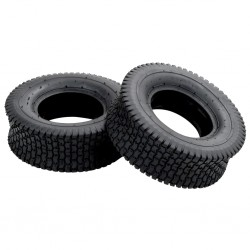 stradeXL Wheelbarrow Tyres 2 pcs 13x5.00-6 4PR Rubber