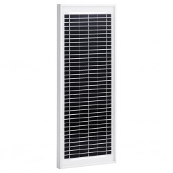 stradeXL Panel słoneczny, 10 W, polikrystaliczny, aluminium i szkło