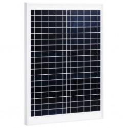 stradeXL Panel słoneczny, 20 W, polikrystaliczny, aluminium i szkło