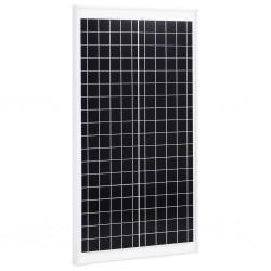 stradeXL Panel słoneczny, 30 W, polikrystaliczny, aluminium i szkło