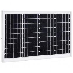 stradeXL Panel słoneczny, 40 W, monokrystaliczny, aluminium i szkło