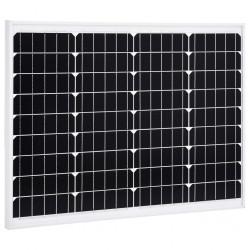 stradeXL Panel słoneczny, 50 W, monokrystaliczny, aluminium i szkło