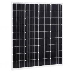 stradeXL Panel słoneczny, 80 W, monokrystaliczny, aluminium i szkło