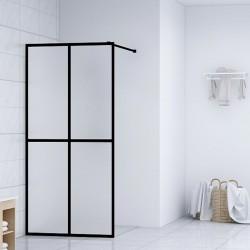 stradeXL Ścianka prysznicowa, szkło hartowane, 118 x 190 cm