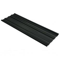 stradeXL Panele dachowe ze stali galwanizowanej, 12 szt., antracytowe