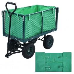 stradeXL Garden Cart Liner Green Fabric