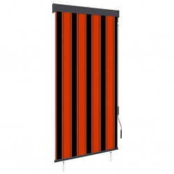 stradeXL Outdoor Roller Blind 80x250 cm Orange and Brown