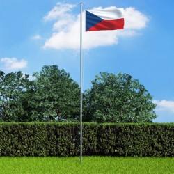 stradeXL Flaga Czech, 90x150 cm