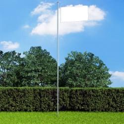 stradeXL Maszt na flagę, aluminiowy, 6,2 m