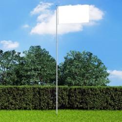 stradeXL Teleskopowy maszt flagowy, aluminiowy, 6 m