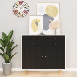 stradeXL Okleina meblowa samoprzylepna, ciemne drewno, 500x90 cm, PVC