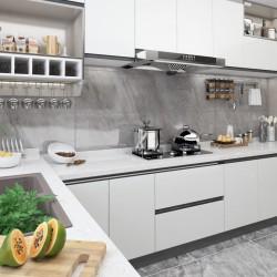 stradeXL Okleina meblowa samoprzylepna, biała, 500x90 cm, PVC