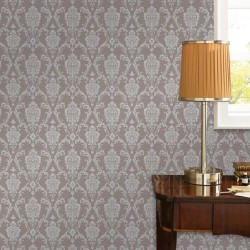 stradeXL 4 pcs Non-woven Wallpaper Rolls Taupe 0.53x10 m Ornament Busy