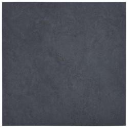 stradeXL Samoprzylepne panele podłogowe z PVC, 5,11 m², czarny marmur