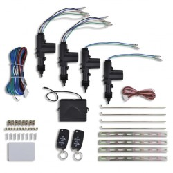 Car Central Door Lock Kit with 2 VW/Audi/Skoda Key Remotes 12V