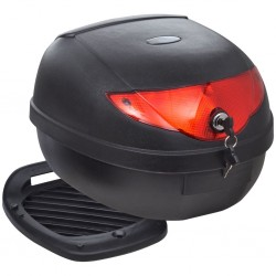 stradeXL Motorbike Top Case 36 L for Single Helmet