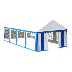 stradeXL Party Tent 4 x 8 m Blue