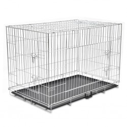 Foldable Metal Dog Bench XXL