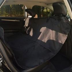 stradeXL Pokrowiec na tylne siedzenie dla zwierząt, 148x142 cm, czarny