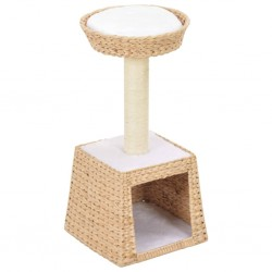 stradeXL Cat Tree with Sisal Scratching Post Seagrass