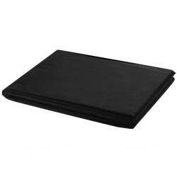 stradeXL Tło fotograficzne, bawełniane, 500 x 300 cm, czarne