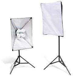 Zestaw studio, softboksy i stojaki x2
