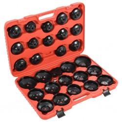 stradeXL 30-częściowy zestaw kluczy do filtrów oleju