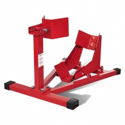 Motorbike stand for front wheel