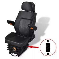 stradeXL Tractor Seat with Suspension