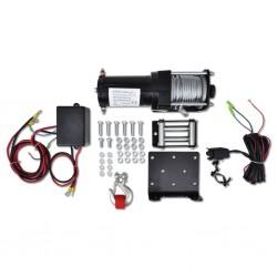 Wciągarka elektryczna 12V, 1360 kg, z prowadnicą liny
