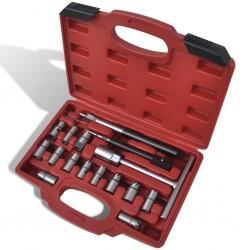 Wtryskiwacz oleju napędowego, zestaw narzędzi 17 szt