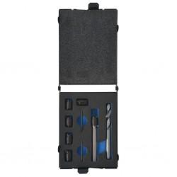 stradeXL Nine Piece Spot Weld Cutter and Drill Bit Set HSS-Cobalt