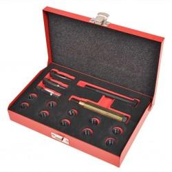 stradeXL 15 Piece Glow Plug Thread Repair Kit M10 x 1.0 mm
